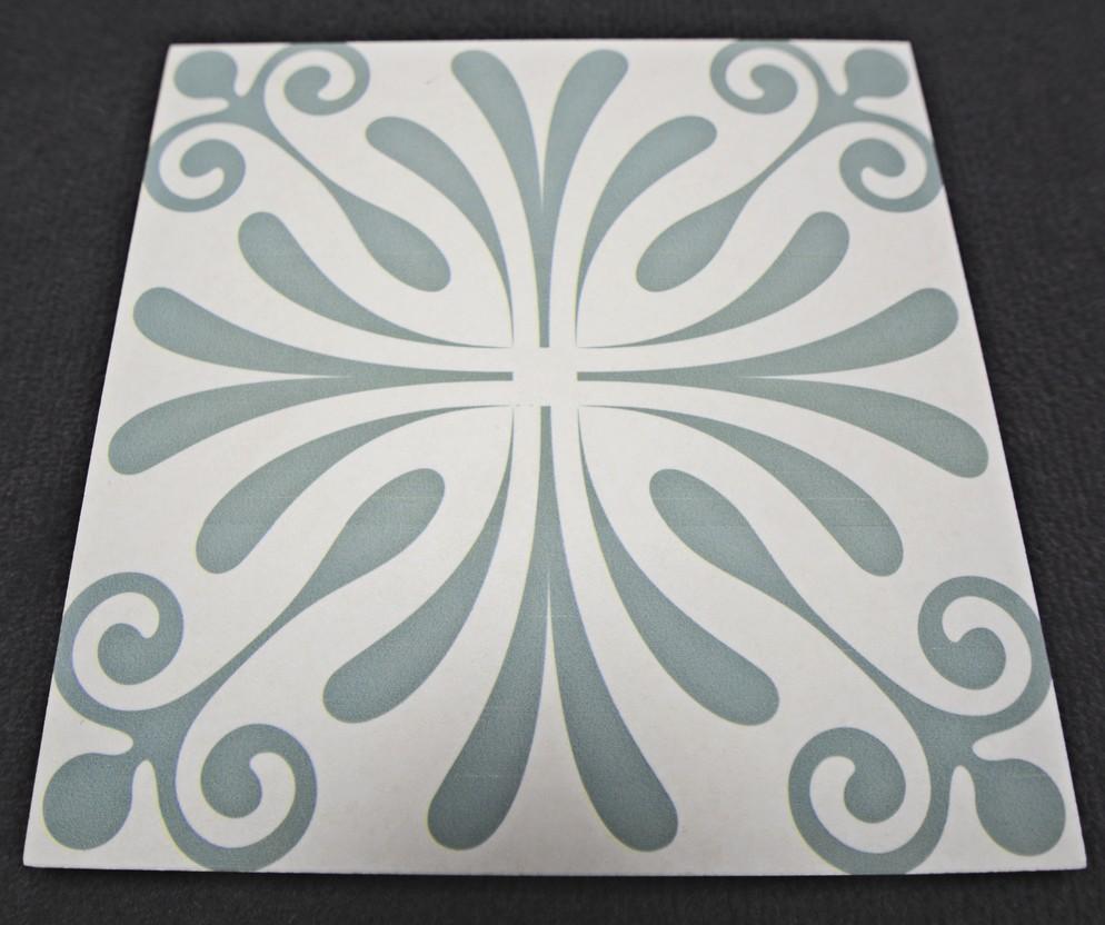 bodenfliese dekor klingenberg siena 50214 20 x 20 ornament historisch antik ebay. Black Bedroom Furniture Sets. Home Design Ideas