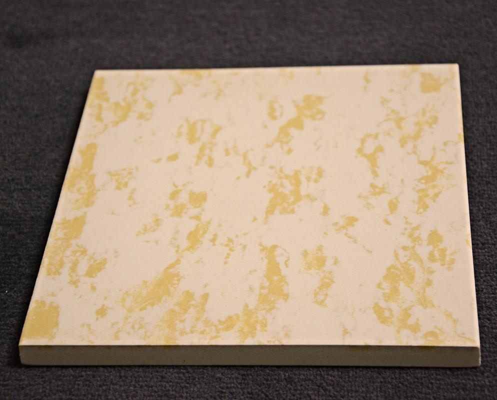 reparatur bodenfliese ostara 620253 541 20 x 20 gelb geflammt aldi lidl 14 mm ebay. Black Bedroom Furniture Sets. Home Design Ideas