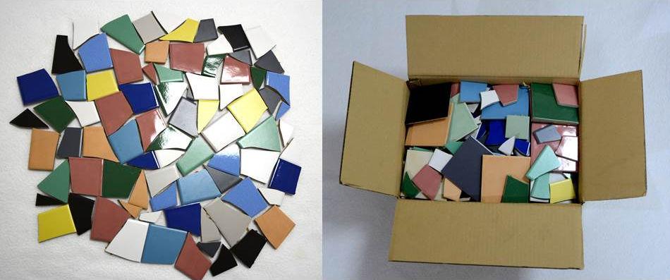 3 kg ca 0 25 qm mosaik fliesenbruch bruchmosaik bastelmosaik bunt gemischt ebay. Black Bedroom Furniture Sets. Home Design Ideas