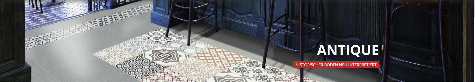 bodenfliese klingenberg antique 50217 bologna 20 x 20 ornament historisch antik ebay. Black Bedroom Furniture Sets. Home Design Ideas